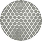 12' 2 x 12' 2 Lattice Round Rug thumbnail