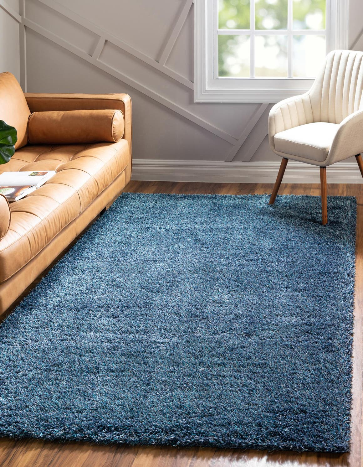 12' 2 x 16' Luxe Solid Shag Rug main image