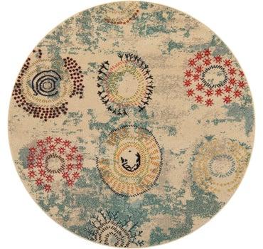 6' x 6' Casablanca Round Rug main image