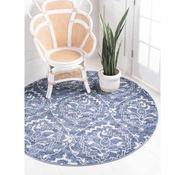 Image of  Blue Diana Round Rug