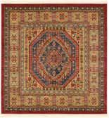 125cm x 125cm Serapi Square Rug thumbnail
