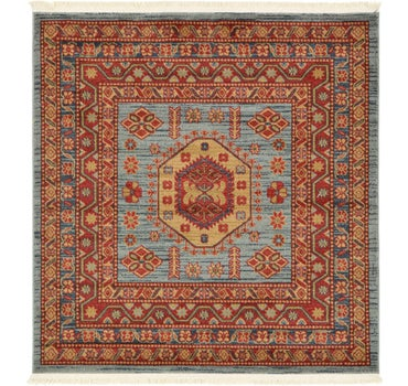 4' x 4' Serapi Square Rug main image
