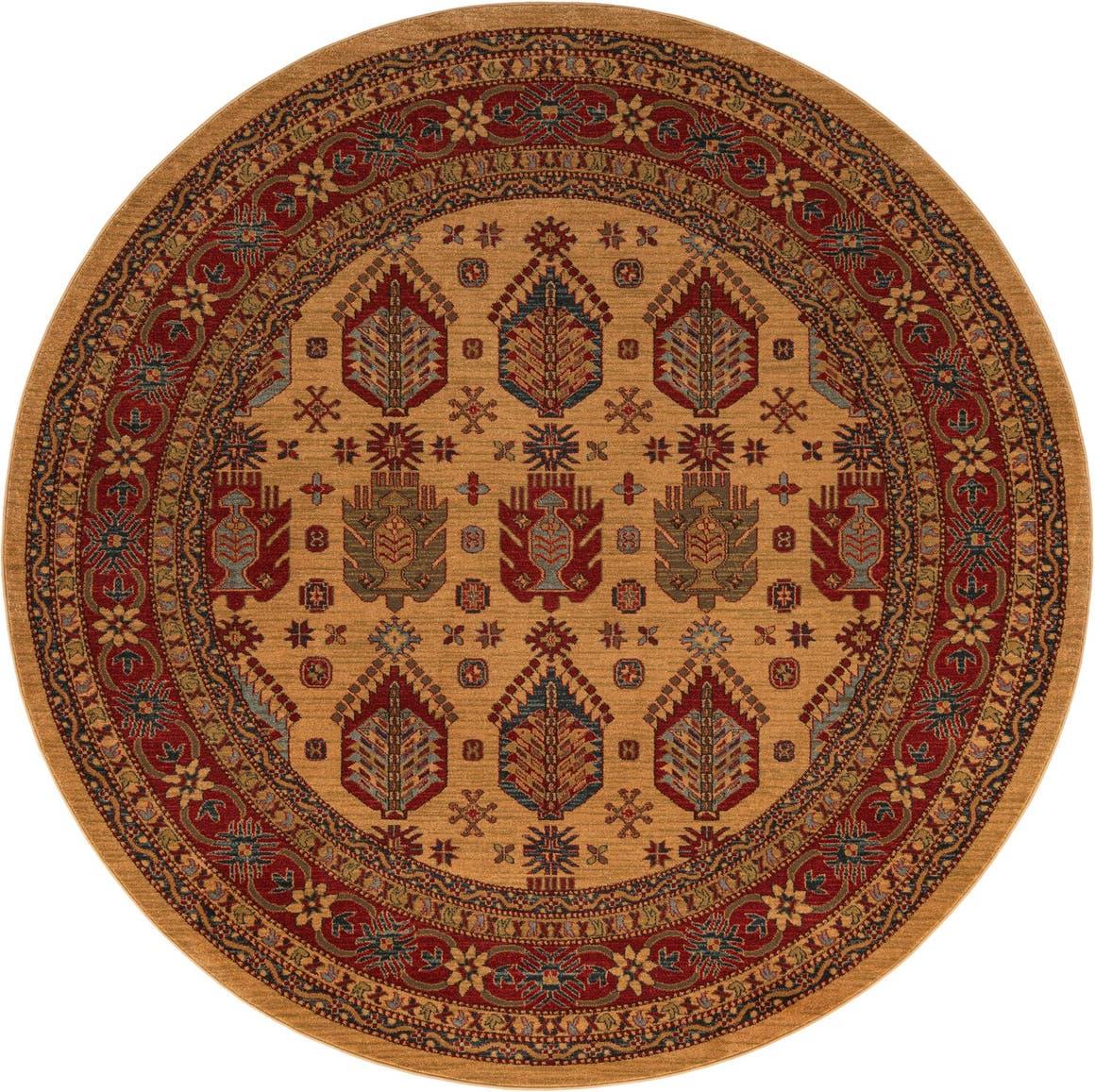 8' x 8' Serapi Round Rug main image
