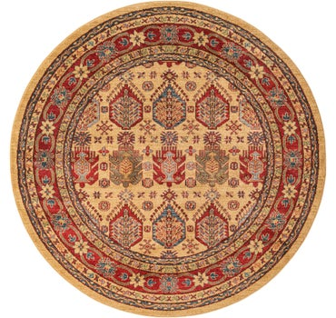 6' x 6' Serapi Round Rug main image