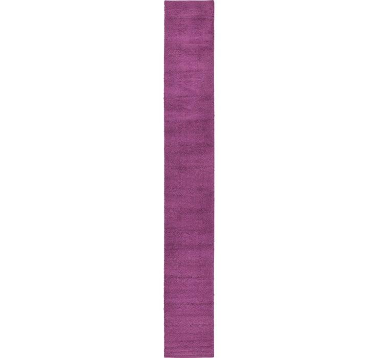 80cm x 600cm Solid Frieze Runner Rug