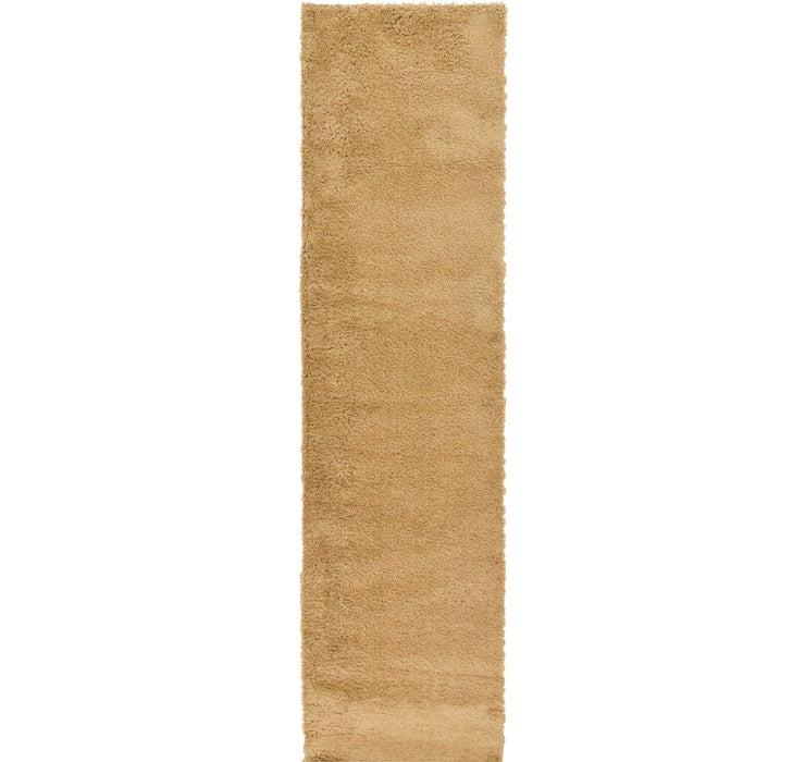 2' 7 x 98' 5 Solid Frieze Runner Rug