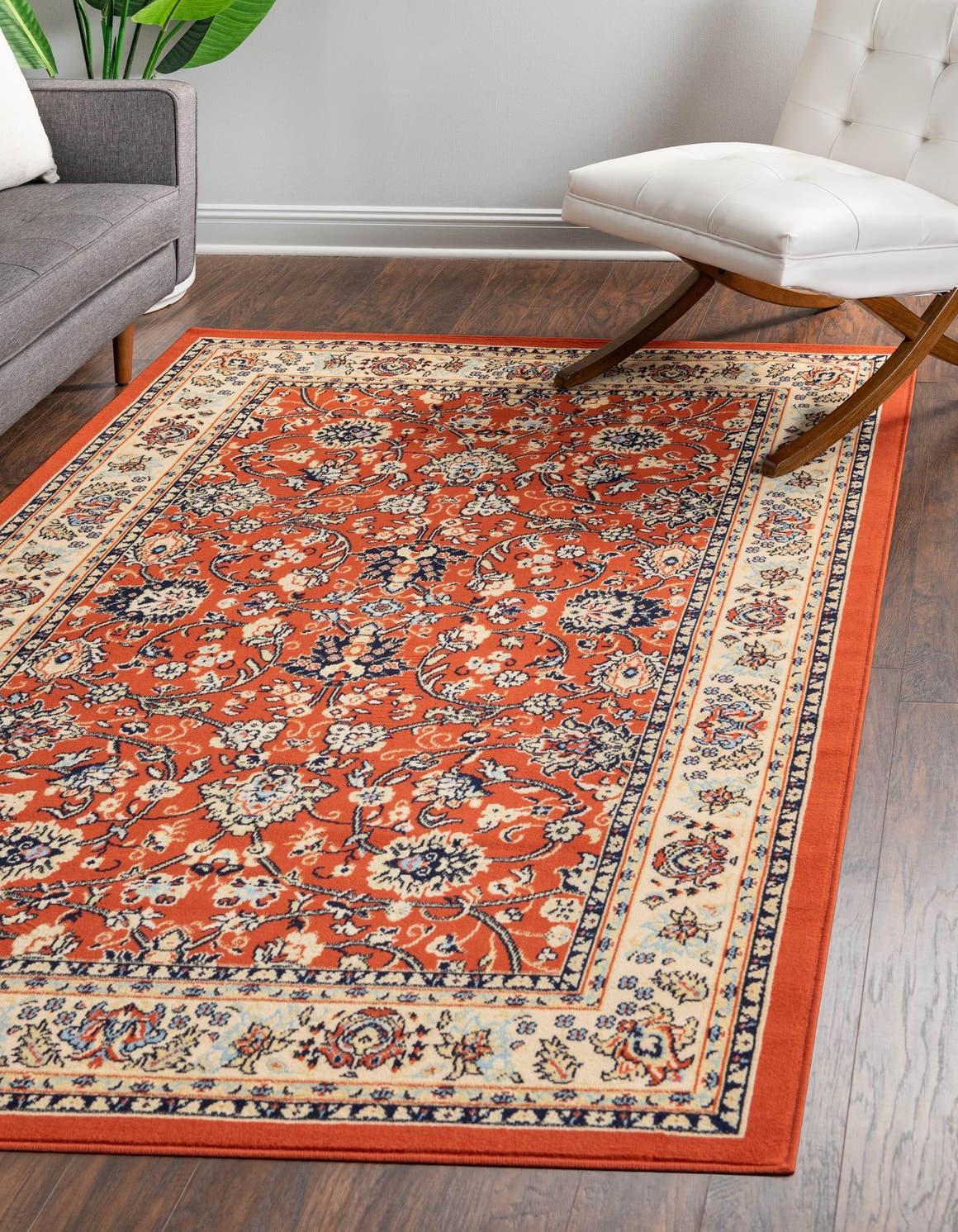 8' x 10' Kashan Design Rug main image