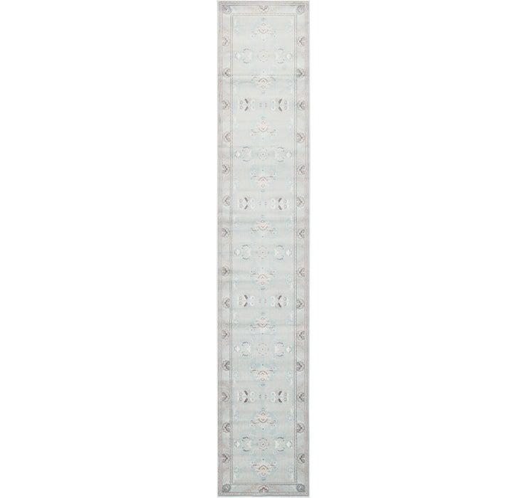 90cm x 500cm Damask Runner Rug