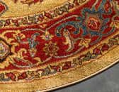 6' x 6' Serapi Round Rug thumbnail