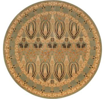 Image of  Light Green Chelsea Round Rug