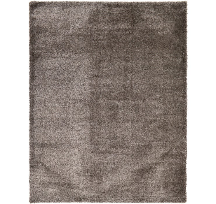 10' x 13' Luxe Solid Shag Rug