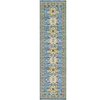 Image of  Light Blue Heris Runner Rug