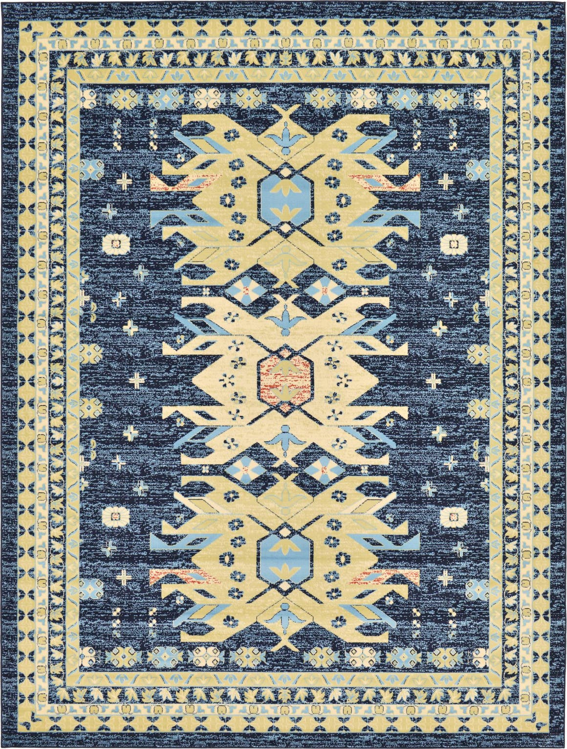 9' 10 x 13' Heriz Design Rug main image