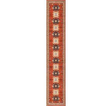 Image of  Terracotta Heris Runner Rug