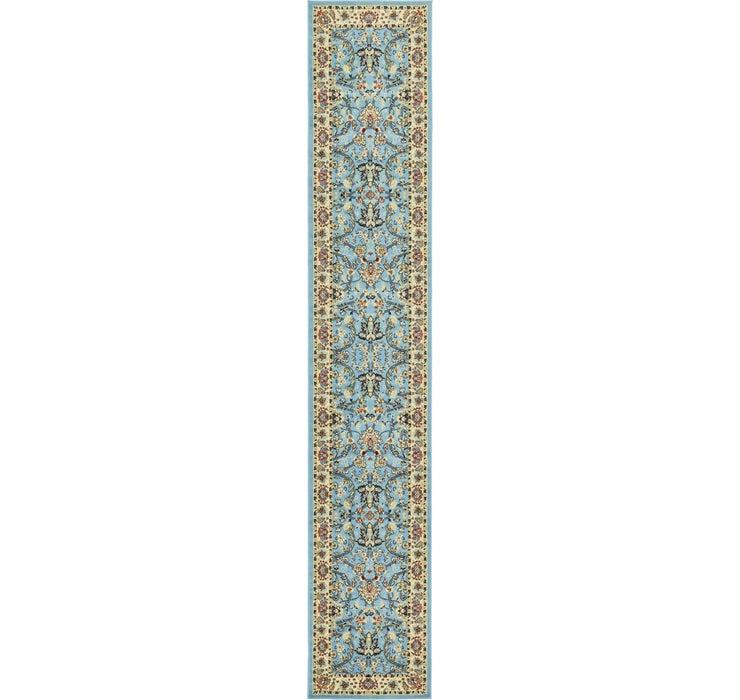 Image of 90cm x 500cm Kashan Design Runner Rug