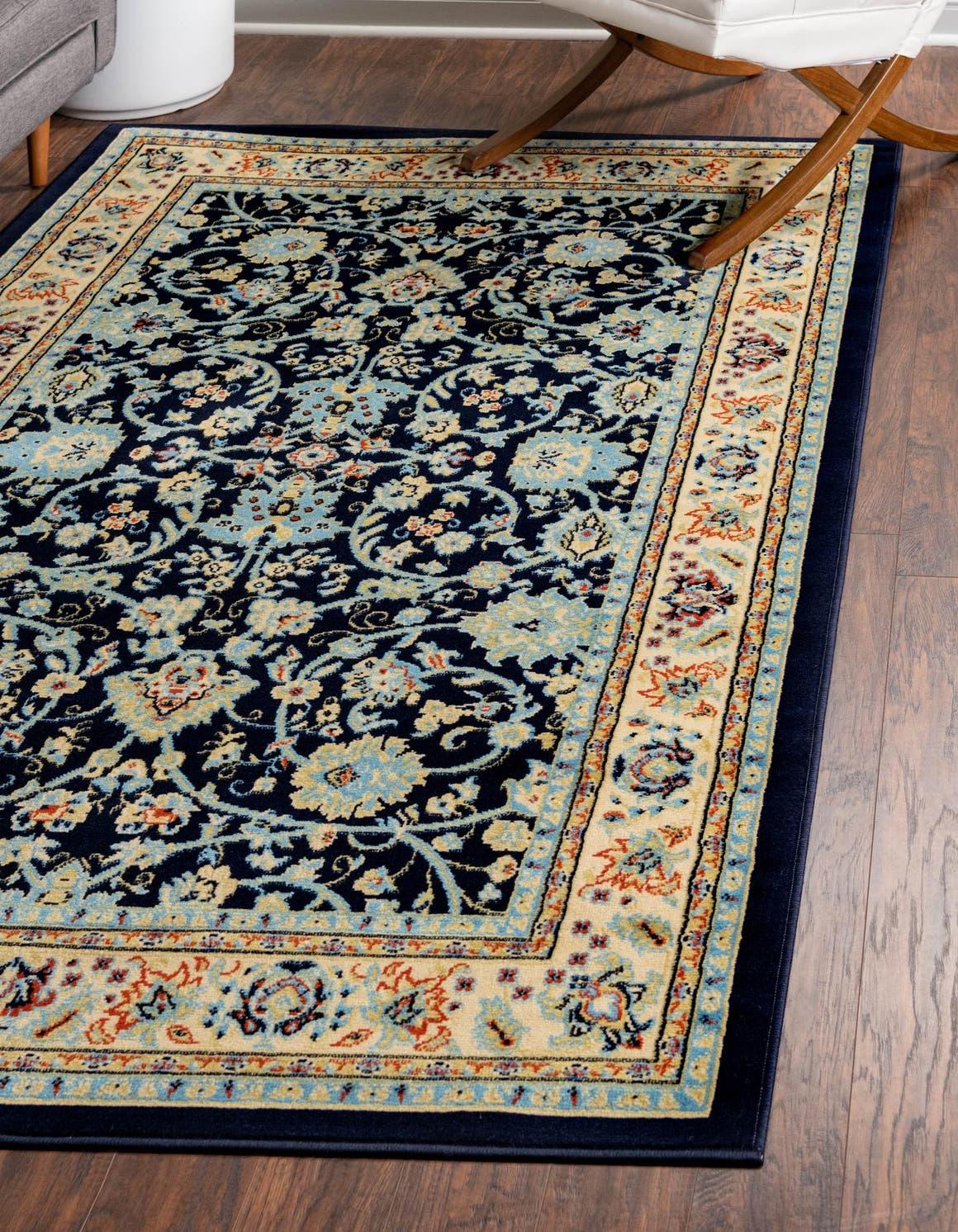 5' x 8' Kashan Design Rug main image