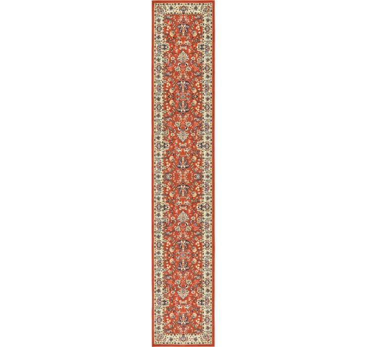 3' x 16' 5 Kashan Design Runner Rug