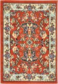 2' 2 x 3' Kashan Design Rug thumbnail