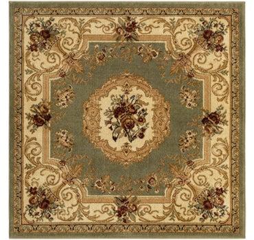 4' x 4' Classic Aubusson Square Rug main image
