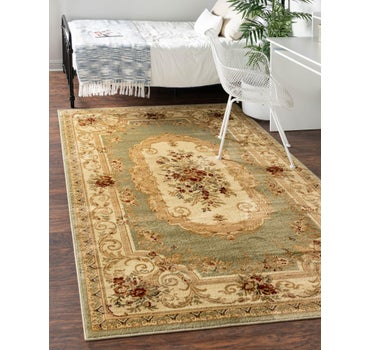 9' x 12' Classic Aubusson Rug main image