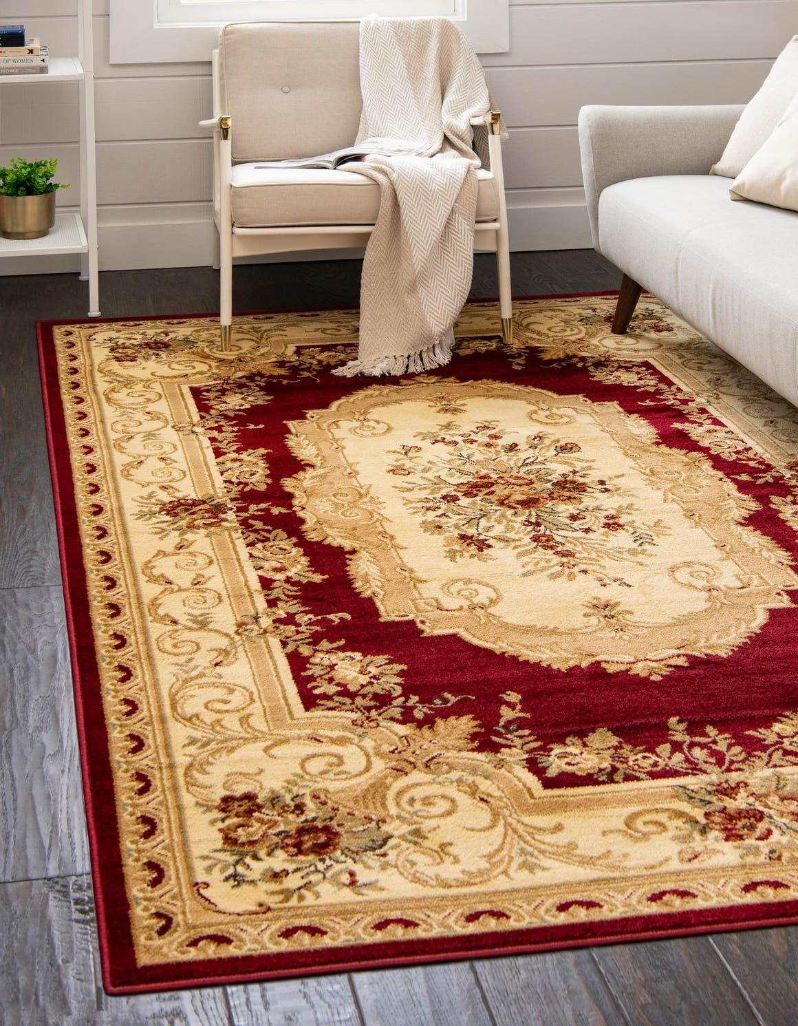 5' x 8' Classic Aubusson Rug main image
