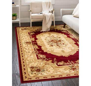 Image of 5' x 8' Classic Aubusson Rug