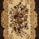 Link to Brown of this rug: SKU#3123514