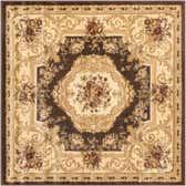 4' x 4' Chateau Square Rug thumbnail