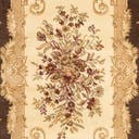 Link to Brown of this rug: SKU#3123525