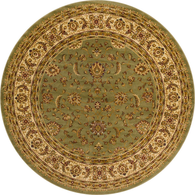 8' x 8' Classic Agra Round Rug main image