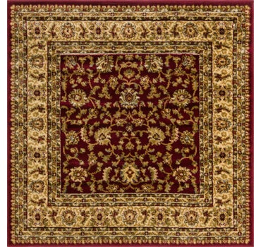 4' x 4' Classic Agra Square Rug main image