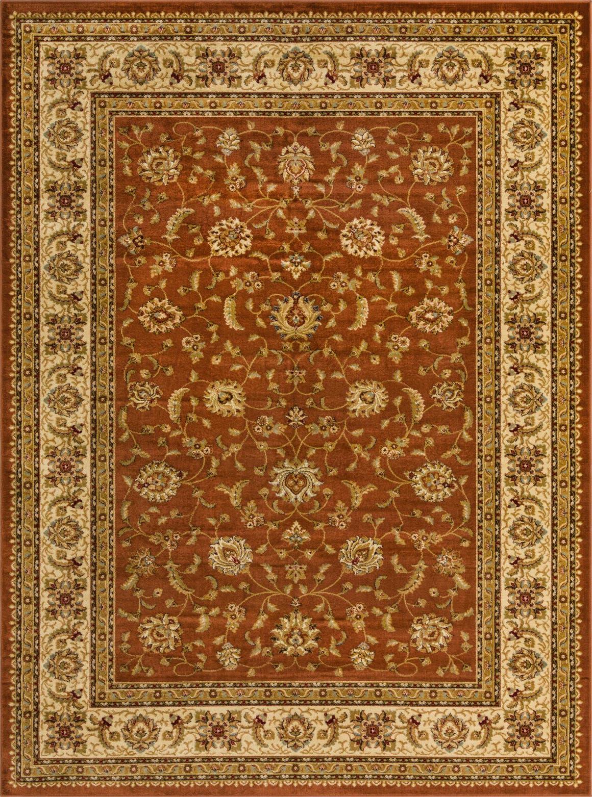 9' x 12' Classic Agra Rug main image