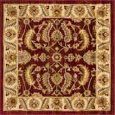 122cm x 122cm Classic Agra Square Rug thumbnail