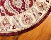 6' x 6' Classic Agra Round Rug thumbnail