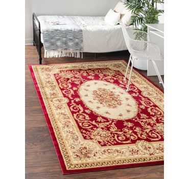 6' x 9' Classic Aubusson Rug main image