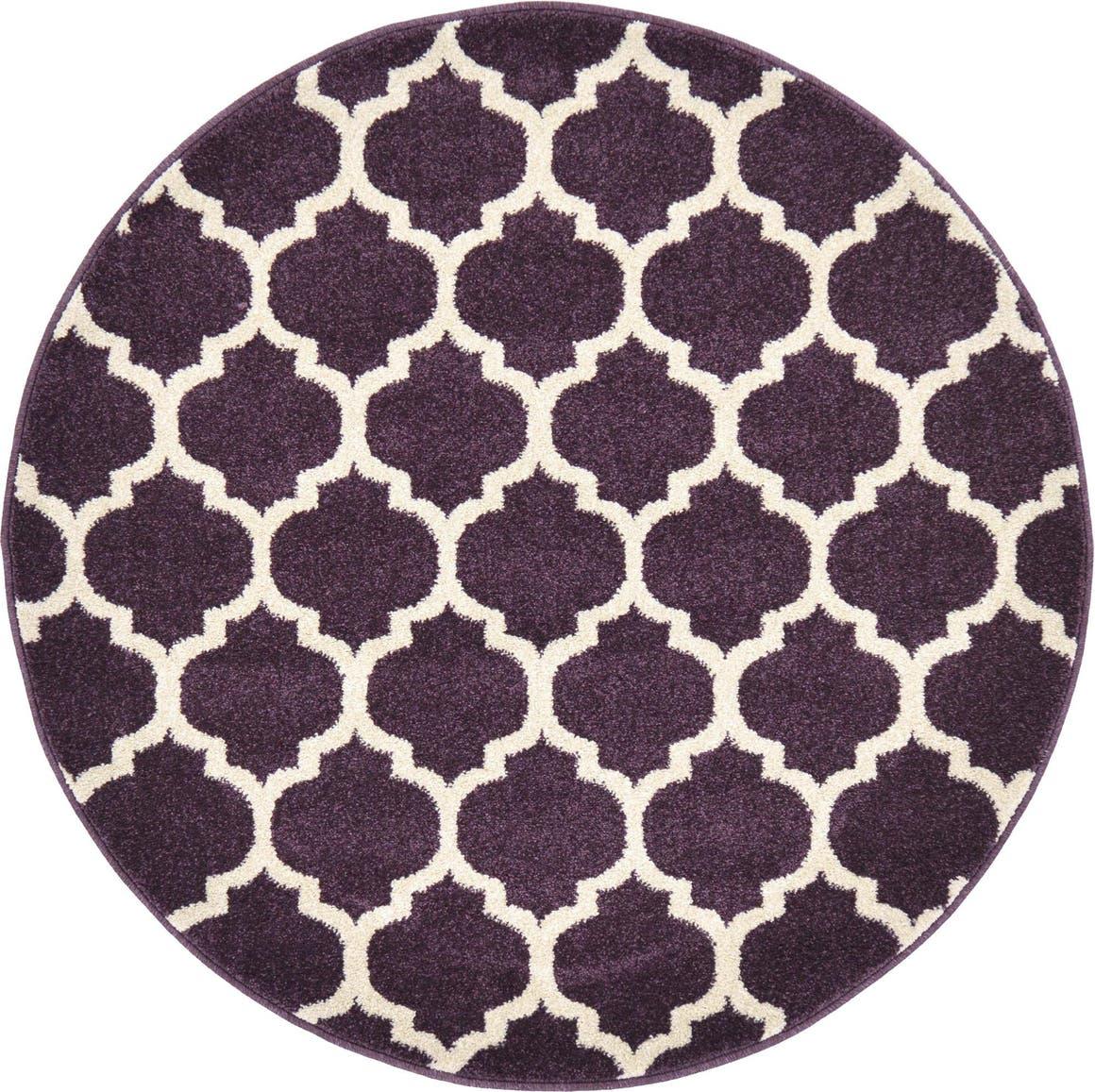 3' 3 x 3' 3 Trellis Round Rug main image