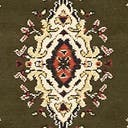 Link to Green of this rug: SKU#3123467