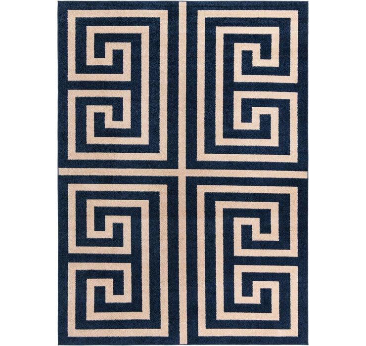9' x 12' Greek Key Rug