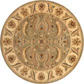 245cm x 245cm Classic Agra Round Rug thumbnail
