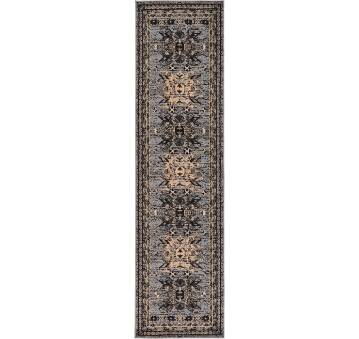 2' 2 x 8' 2 Heriz Design Runner Rug