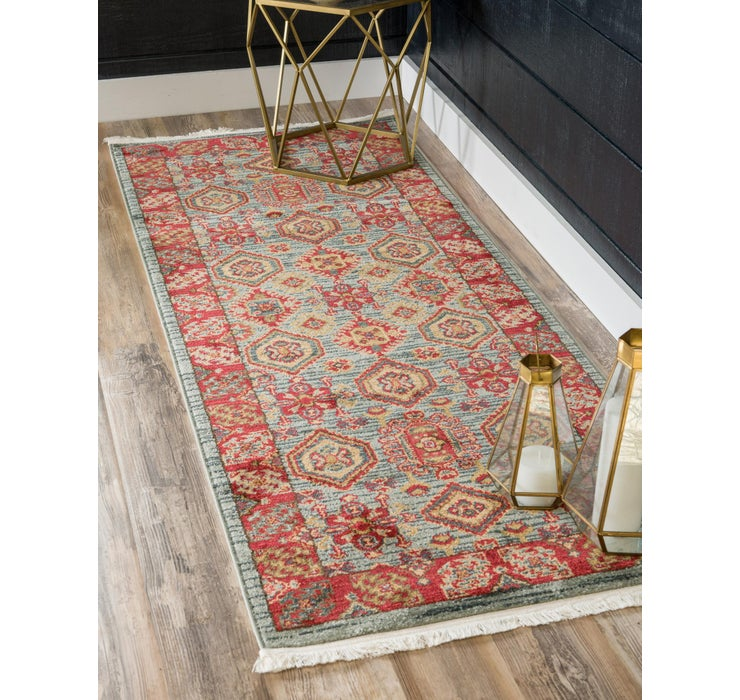 Image of 2' 7 x 10' Serapi Runner Rug