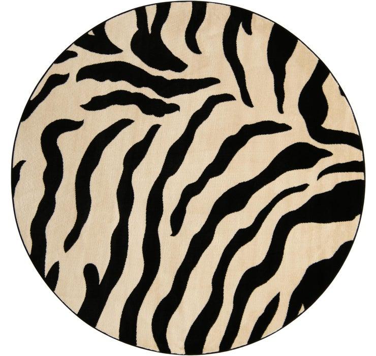 240cm x 240cm Safari Round Rug