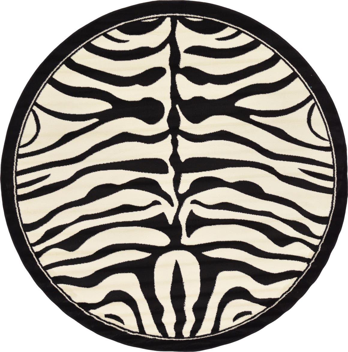 8' x 8' Safari Round Rug main image