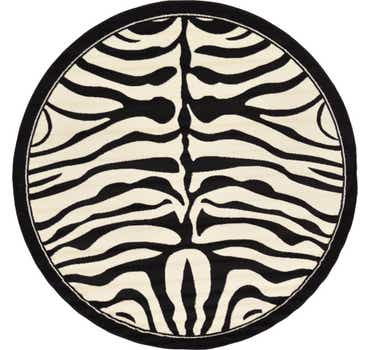 Image of 8' x 8' Safari Round Rug