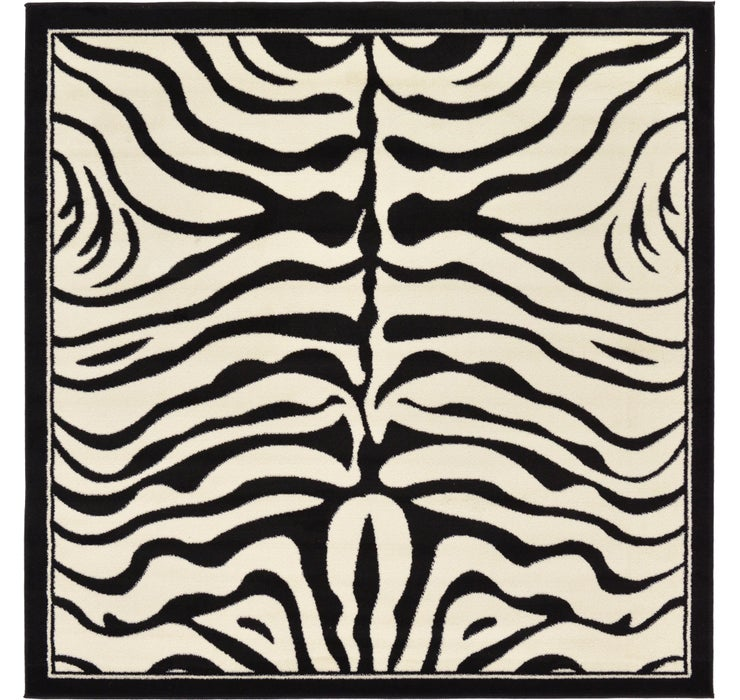 6' x 6' Safari Square Rug