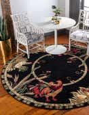 4' x 4' Country Round Rug thumbnail