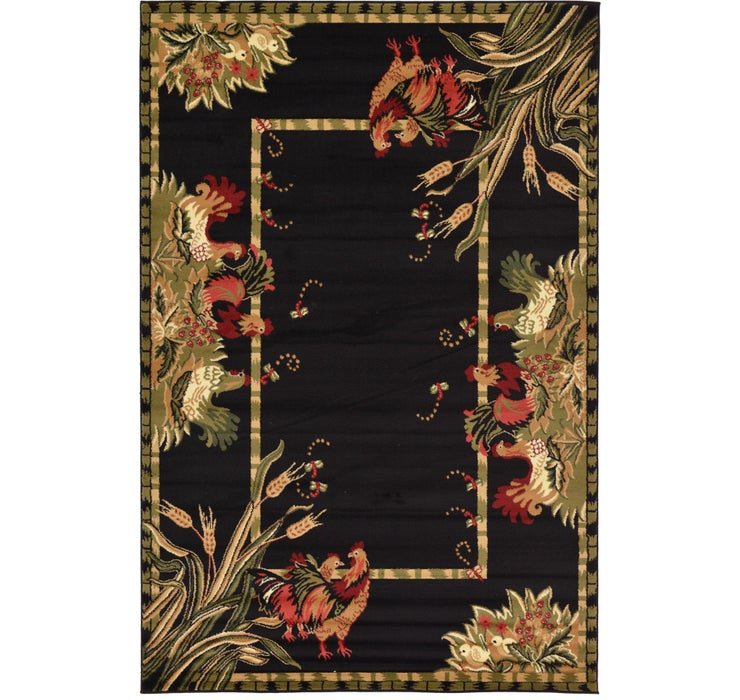 6' x 9' Country Rug
