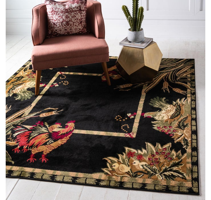 152cm x 152cm Country Square Rug