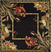 6' x 6' Country Square Rug thumbnail