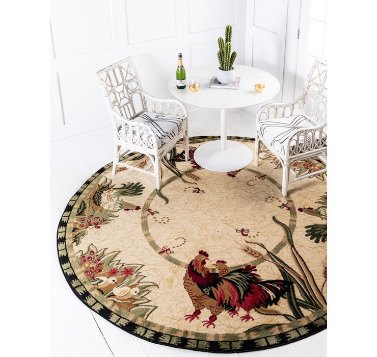 245cm x 245cm Country Round Rug